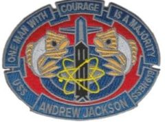 USS Andrew Jackson SSBN-619 – Plastic Backing