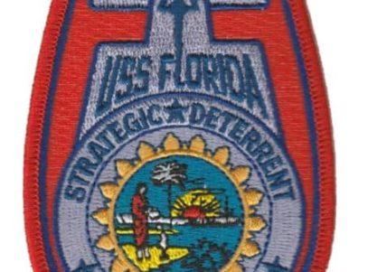 USS Florida SSBN-728 – Plastic Backing