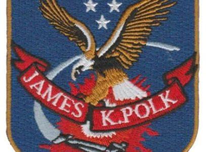 USS James K Polk SSBN-645 – Plastic Backing