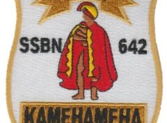 USS Kamehameha SSBN-642 – Plastic Backing