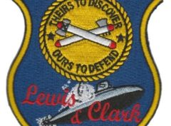 USS Lewis & Clark SSBN-644 – Plastic Backing