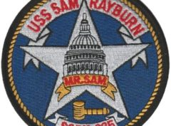USS Sam Rayburn SSBN-635 – Plastic Backing