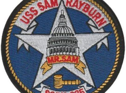 USS Sam Rayburn SSBN-635 – Plastic Backing