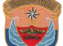 USS Woodrow Wilson SSBN 624 – Plastic Backing