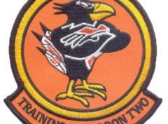 VT-2 Doerbirds (Orange) Squadron Patch– Plastic Backing