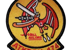 VA-174 Hellrazors Squadron Patch