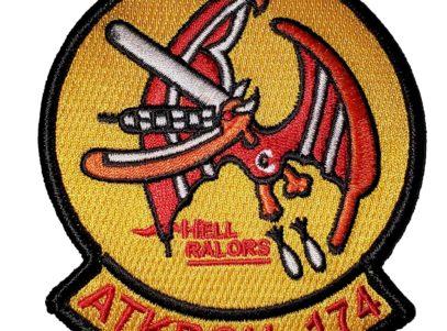 VA-174 Hellrazors Squadron Patch