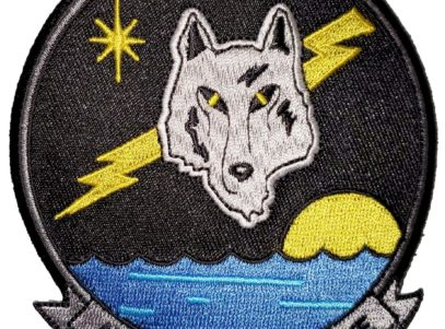 VA-155 Silver Foxes Squadron Patch