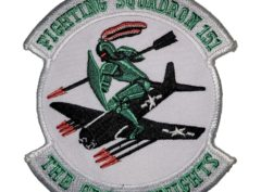 VMF-151 Green Knights Squadron Patch - Sew On