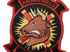 HMM-261 Raging Bulls Squadron Patch- Sew On