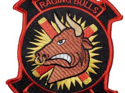 HMM-261 Raging Bulls Squadron Patch- Sew On