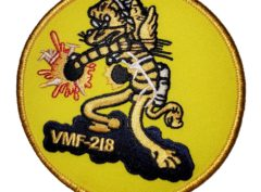VMF-218 Hellions Squadron Patch - Sew On