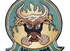 VMM-261 Raging Bulls Squadron Patch- Sew On