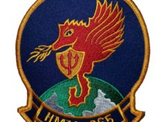 HMM-265 Dragons Squadron Patch- Sew On