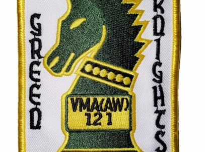 VMA (AW)-121 Green Knights Squadron Patch – Sew On