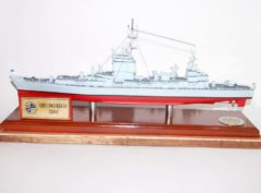 Ship USS Long Beach CGN-9 Model