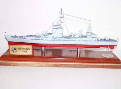 Ship USS Long Beach CGN-9 Model