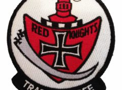 VT-3 Red Knights Squadron Patch – Plastic Backing