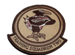VT-2 Doerbirds (Tan) Squadron Patch– Hook and Loop