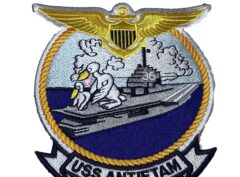 USS Antietam (CV-36) Patch – Sew On