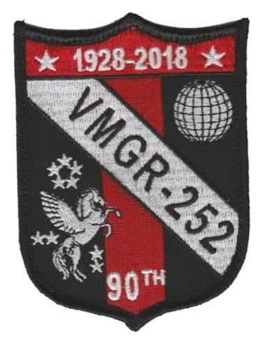 VMGR-252 90th Anniversary Squadron Patch – Sew On