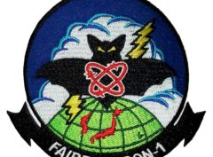 VQ-1 World Watcher Patch - Sew On