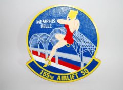 155th Airlift Squadron Plaque
