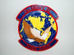 15th Airlift Squadron Plaque