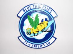 37th Airlift Squadron Plaque