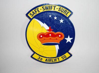 3d Airlift Squadron Plaque