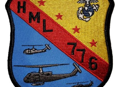 HML-776 Squadron Patch –Sew On