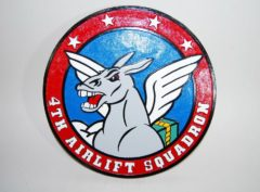 4th Airlift Squadron Plaque