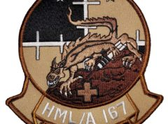 HML/A-167 Warriors (Tan) Patch – Sew On