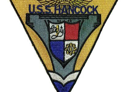 USS Hancock CV-19 Patch – Sew On