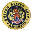 USS America CV-66 Patch – Sew On