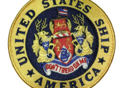 USS America CV-66 Patch – Sew On