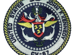 USS John F. Kennedy CV-67 Patch – Sew On