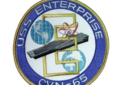 USS Enterprise CNV-65 Patch – Sew On
