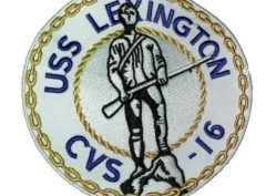USS Lexington CVS-16 Patch – Sew On