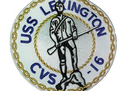USS Lexington CVS-16 Patch – Sew On
