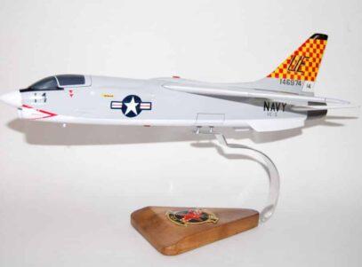 VC-5 Checkertails F-8 Crusader Model