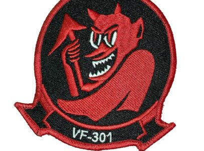 VF-301 Devil's Disciples Squadron Patch- Sew On