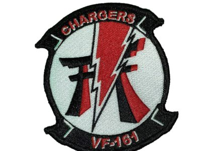 VF-161 Chargers Squadron Patch- Sew On
