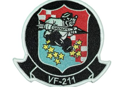 VF-211 Checkmates Squadron Patch – Sew on