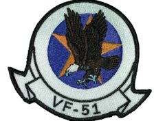 VF-51 Screaming Eagles Squadron Patch – Sew on