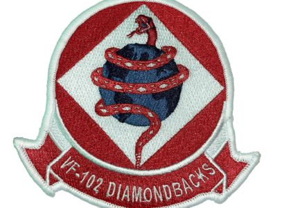 VF-102 Diamondbacks Squadron Patch – Sew on