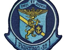 VF-32 / VFA-32 Swordsmen Squadron Patch – Sew on