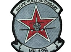 VF-126 Pacific Adversary Squadron Patch – Sew on
