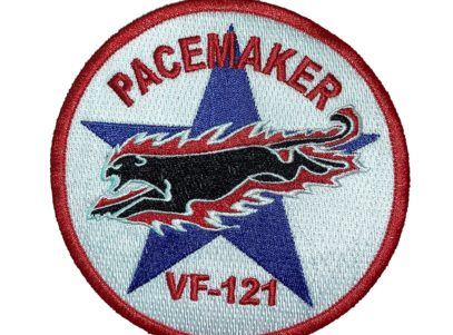 VF-121 Pacemakers Squadron Patch – Sew on