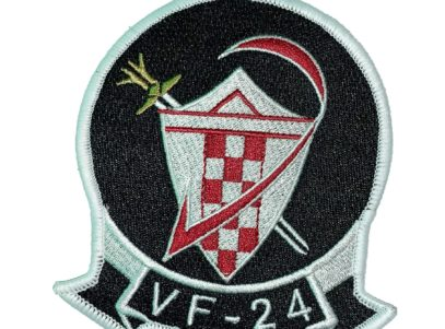 VF-24 Checkertails Squadron Patch – Sew on